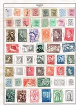 117 Belgium stamps 1949-1964 - $9.79