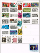 118 Great Britain 1969-1976  stamps - $9.79