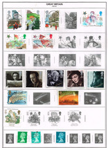 119 Great Britain 1985-1992  stamps - $9.79