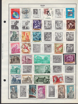 110+ Spain 1966 - 1970 stamps - $9.79
