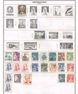 120 Czechoslavakia 1953-1960 stamps - €8,83 EUR