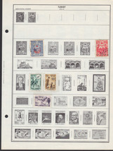 120+ Turkey  stamps - semi-postal, airmail, official - $9.79