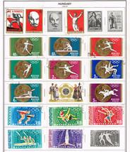 122 Hungary 1968 - 1972 stamps - $9.79