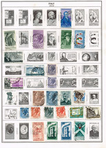 122  Italy 1954-1968 stamps - $9.79