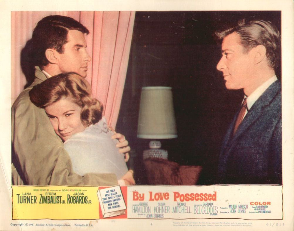 By Love Possessed 11x14 Lobby Card #4