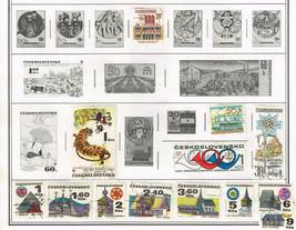 170+ Czechoslavakia 1971-1992 stamps - $9.79