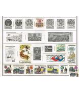 170+ Czechoslavakia 1971-1992 stamps - $12.85 CAD