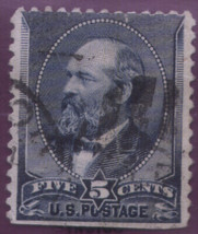 1888 #216 5cent used - $3.92