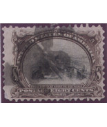 1901 #298 8cent  Pan-American Expo used - $22.05
