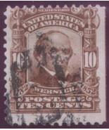 1903 #307 perf 12 dbl line USPS wmk used - $1.18