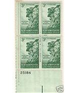 1955 #1064, 1065, 1068 Plate Blocks of 4 unused * - $5.15