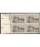 1959 #1128, 1129, 1130  Plate Blocks of 4 unused * - $4.41
