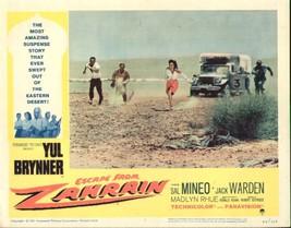 Escape From Zahrain 11x14 Lobby Card #7 - $7.83