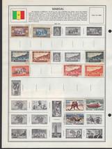 21 Senegal 1900 - 1968 stamps - $1.95