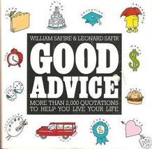 Good Advice book - $3.91