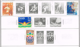 28 Canada stamps airpost/official/post due - $1.95