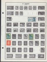 21 St Vincent 1940-1980 stamps - $1.95