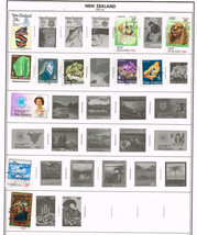 220+ New Zealand 1982-2001 stamps - $9.79