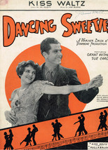 Kiss Waltz from Dancing Sweeties - Grant Withers, Sue Carol - $4.90