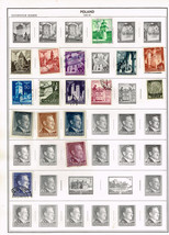 31 Poland 1940-1944  stamps - occupation - $4.89