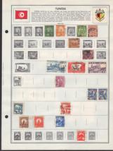 41 Tunsia 1900-1975 stamps - $3.91
