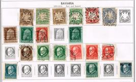 47 Bavaria stamps 1900-1920 - $9.79