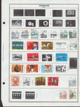 53 Switzerland 1982 - 1998 stamps - $4.89