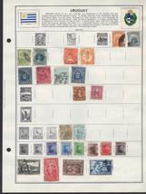 53 Uruguay 1900-1948 stamps - $5.87