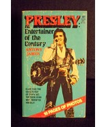 Presley: Entertainer of the year paperback 1977 - $4.89