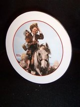 """6"""" Norman Rockwell Young Love series collector plate - $7.83"""