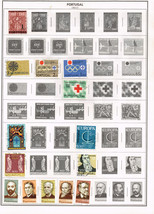 62 Portugal 1964-1988 stamps - $4.89
