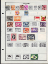 67 Singapore 1948 - 1990 stamps - $5.87