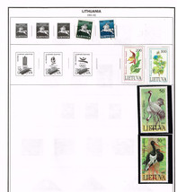 69 Lithuania 1919-92 stamps - $6.85
