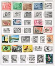 60+ Georgia 1957-1984  stamps - $4.89