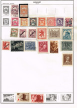 63 Hungary 1913 - 1965 stamps - semi-post / airmail - $7.83