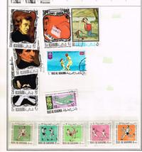 71 Ras Al Khaima 1964-1980 stamps including space & astronauts - $6.85