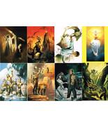 BORIS 4 MAGNIFICENT MYTHS 1994 90-CARD FANTASY ART CARD SET-COMIC IMAGES... - $4.89