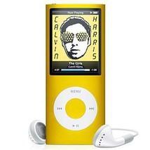 New Slim 32GB 1.8 LCD 4th Gen Mp4 FM Radio Video Player (Yellow) - $38.88