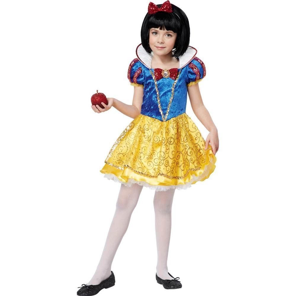 California Costumes Snow White Deluxe Child Costume, Medium 418