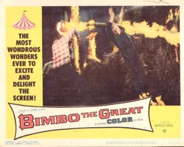 Bimbo the Great 11x14 Lobby Card #3 - $7.83