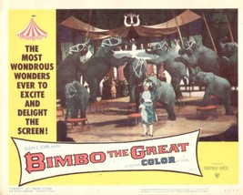 Bimbo the Great 11x14 Lobby Card #7 - $7.83