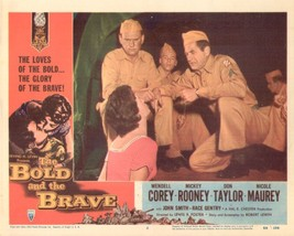 Bold and the Brave, The 11x14 Lobby Card #6 - $7.83