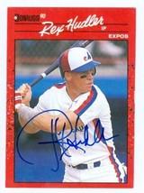 Rex Hudler autographed Baseball Card (Montreal Expos) 1990 Donruss #366 - $14.00