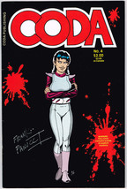 Coda #4 autographed by artist Frank Panucci - $3.92