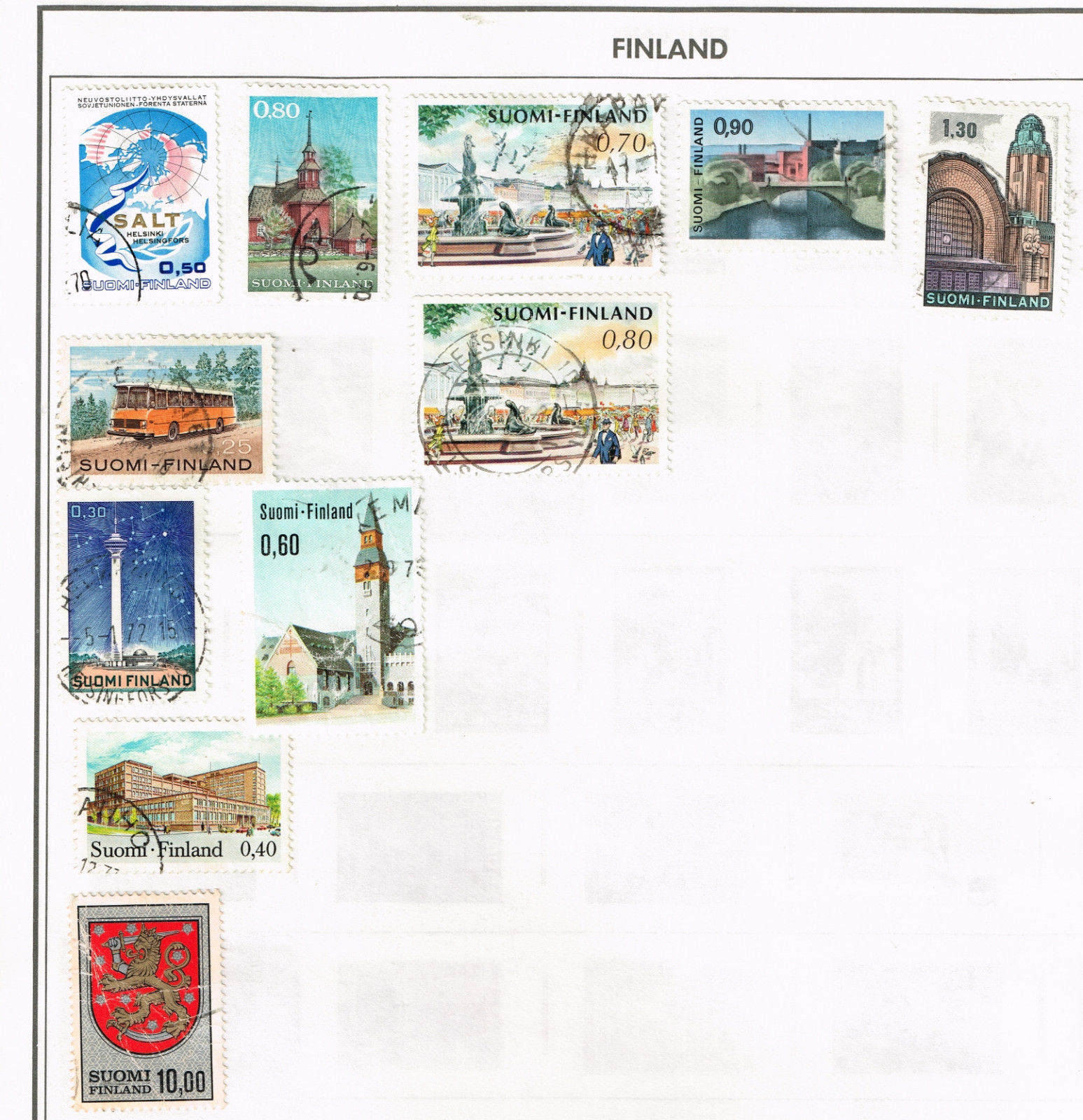 83 Finland 1945-1969  stamps