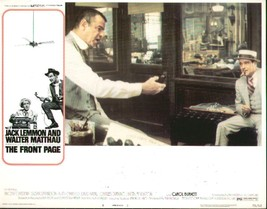 Front Page, The 11x14 Lobby Card #6 - $7.83