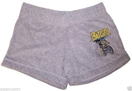 New Authentic Junk Food Batgirl Juniors Terry Cloth Shorts - $21.83