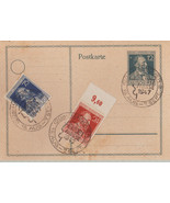 GERMANY 1947 HEINRICH VON STEPHAN POSTAL CARD - $3.43