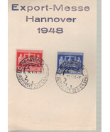 German 1948 Hannover Export Messe special cancel - $3.43