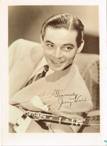 "Jerry Wald - bandleader - 1940s publicity photo 5x7"" - $5.87"